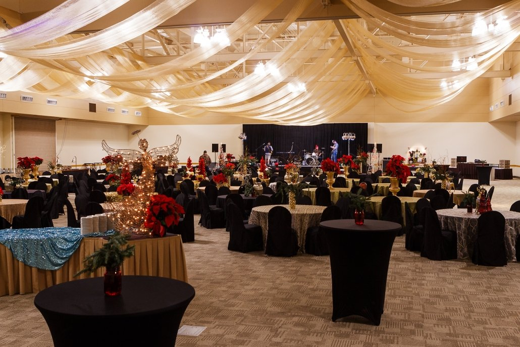 Event Rooms - Christmas Themed - Las Cruces Convention Center Ballroom