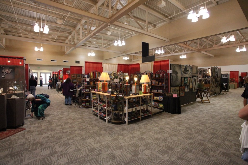 Exhibit Hall Set Up at Convention Center
