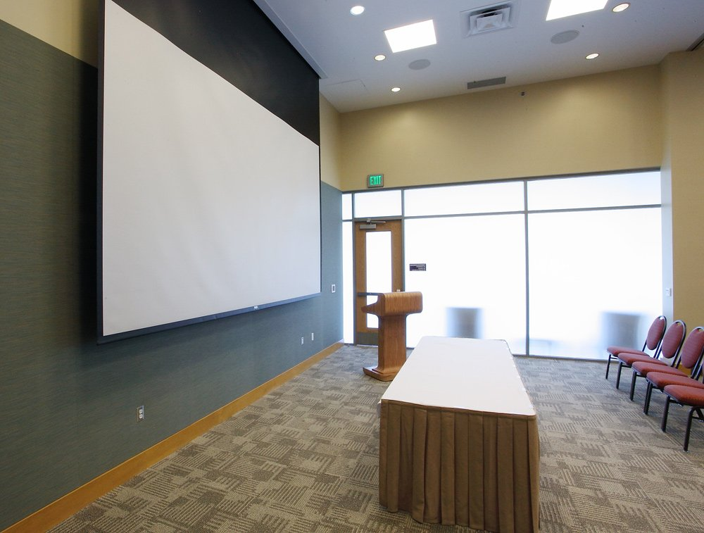 Meeting Room at Convention Center - View from Entry Way